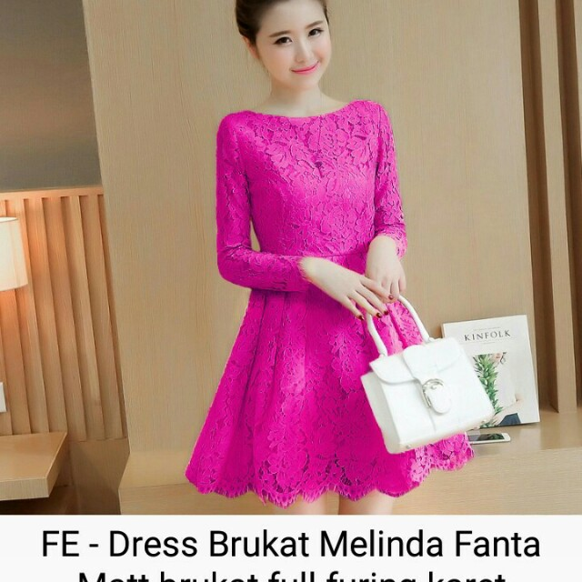 Remaja / Gaun ... Source · Dress brukat Melinda, Olshop .