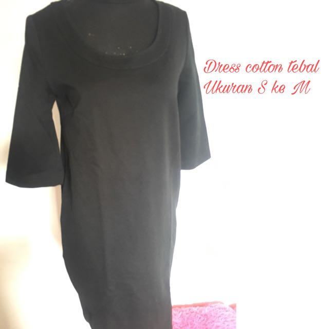 Dress Cotton Tebal