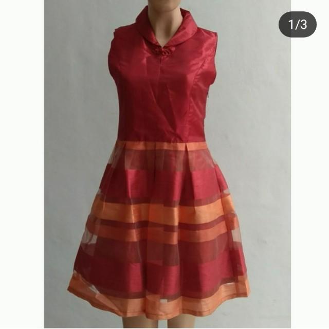 Dress imlek solemio S