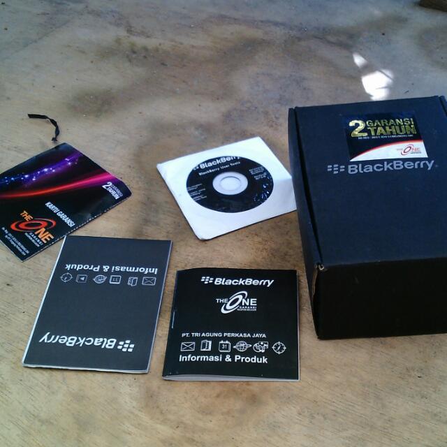 dus / box blackberry lengkap