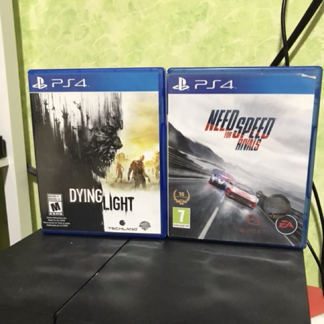 Dying light and need for speed