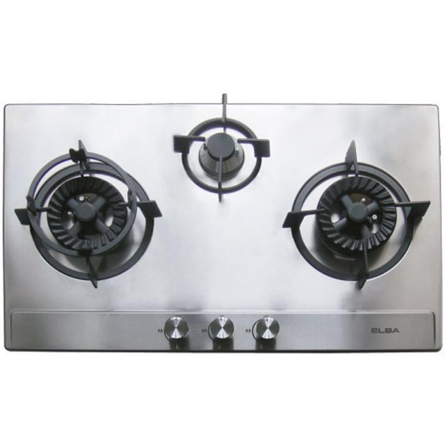 Elba 3 Burner Stainless Steel Built In Hob Ebh8563 Ss Kitchen Liances On Carou