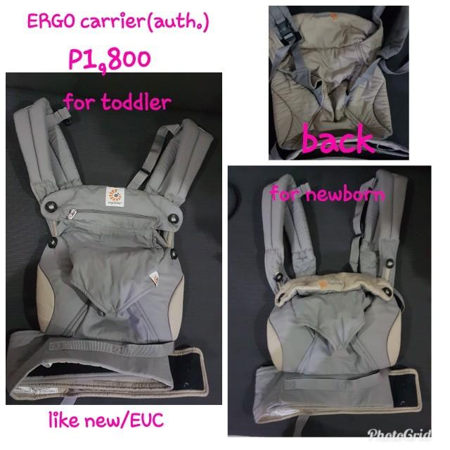 Ergo baby carrier (authentic)