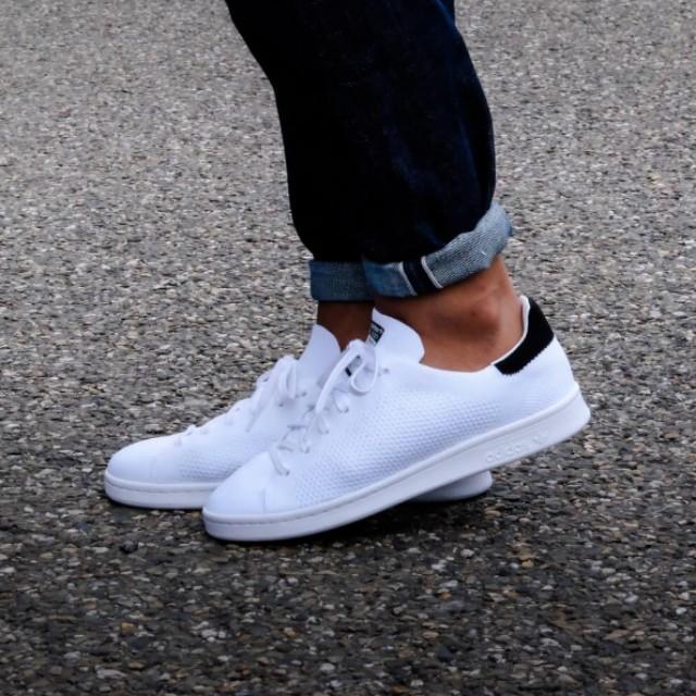 online store 8c804 05b4e (FAST!!) Adidas Stan Smith PK Core Black & White