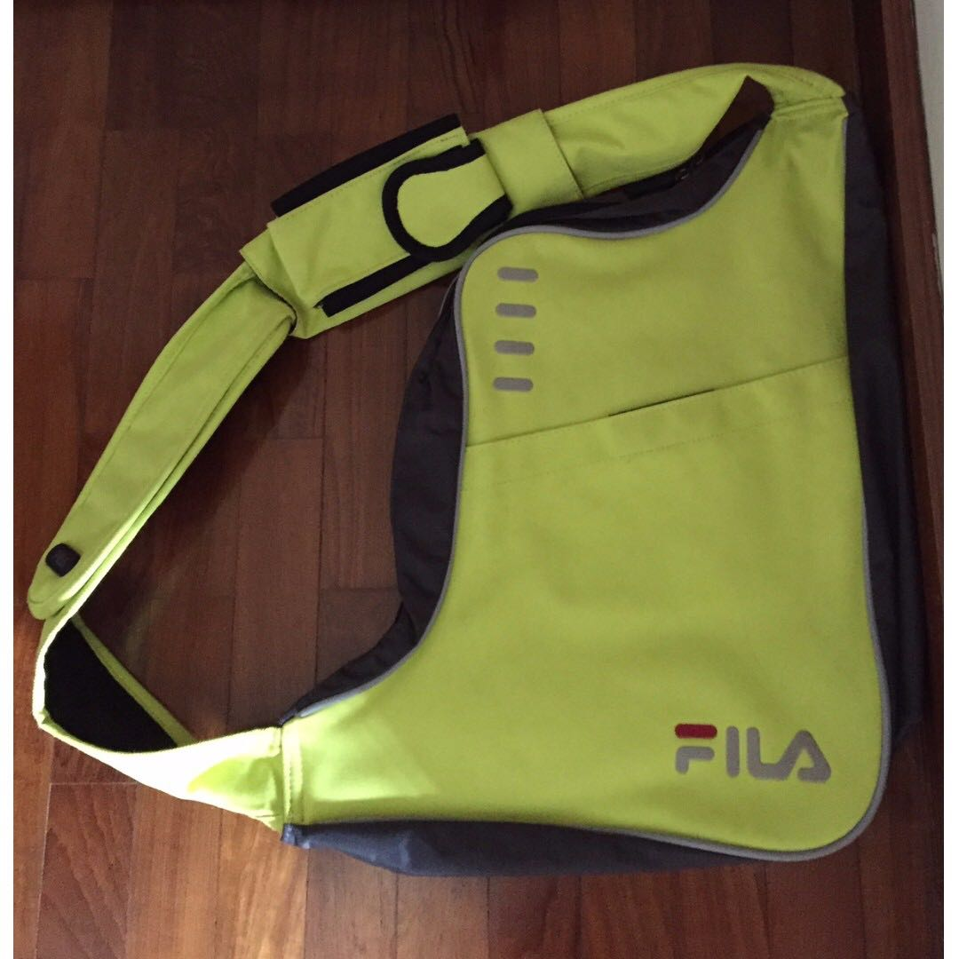 66a340e3af FILA Sports Crossbody Bag, Sports, Sports & Games Equipment on Carousell