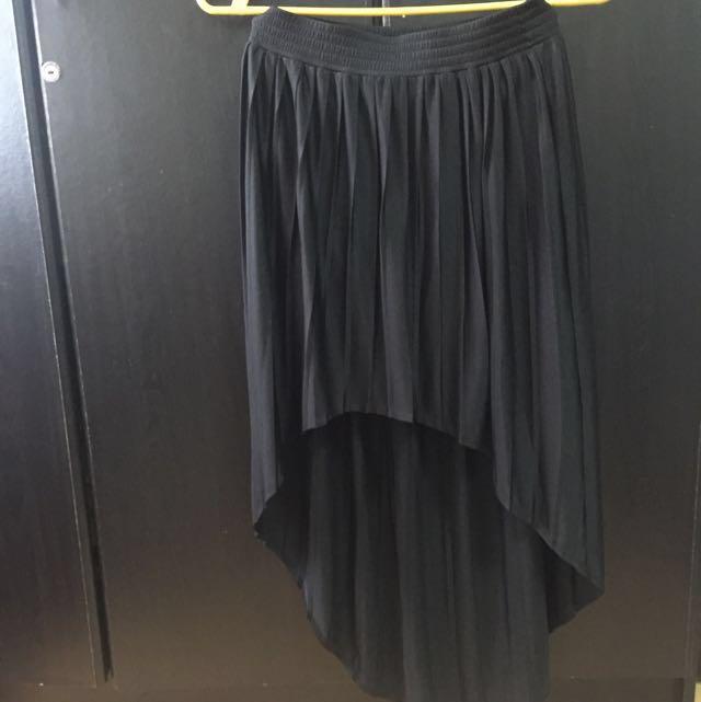 Forever 21 Long Back Skirt