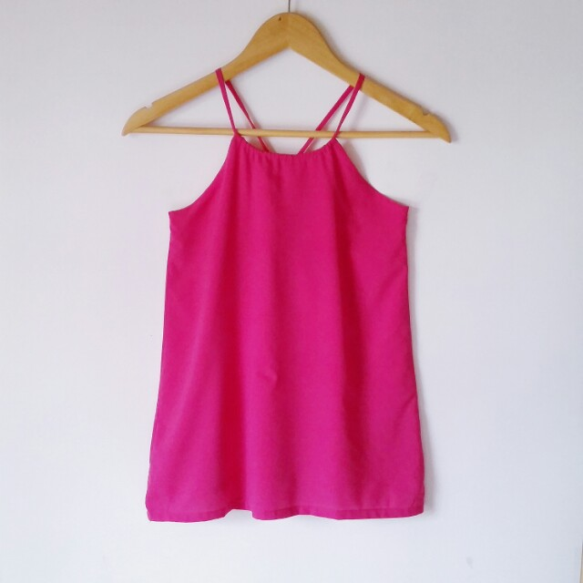Fuschia Halter Top