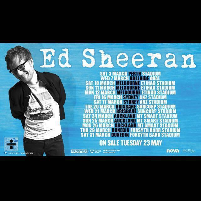 GA REAR Ed Sheeran Sydney Concert 16th March 2018