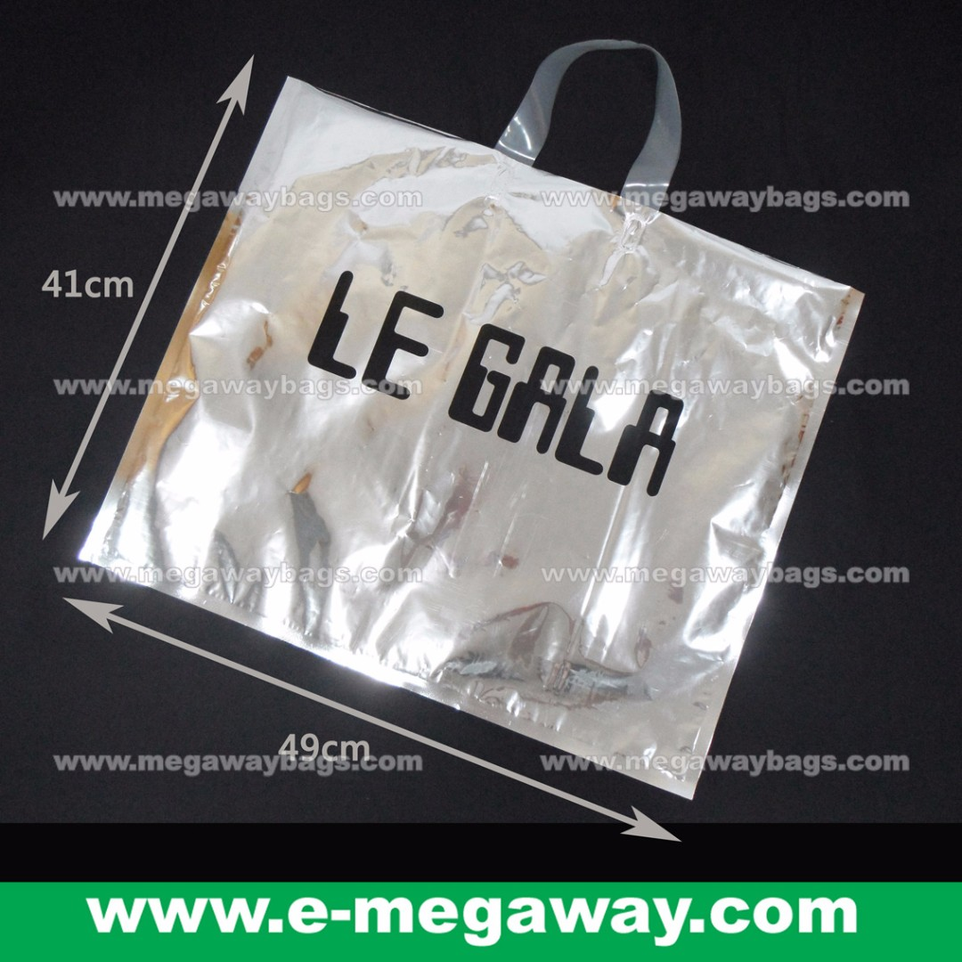 #Glossy #Reflective #Cyber #Look #Silver #Alumimium #Metallic #Feel #Elegant #Trendy #Shop #Bags #Branding #Labelling #Packaging #Takeaway #Shopping #Promotion #Carry-away #Megaway #MegawayBags #9193-Silver