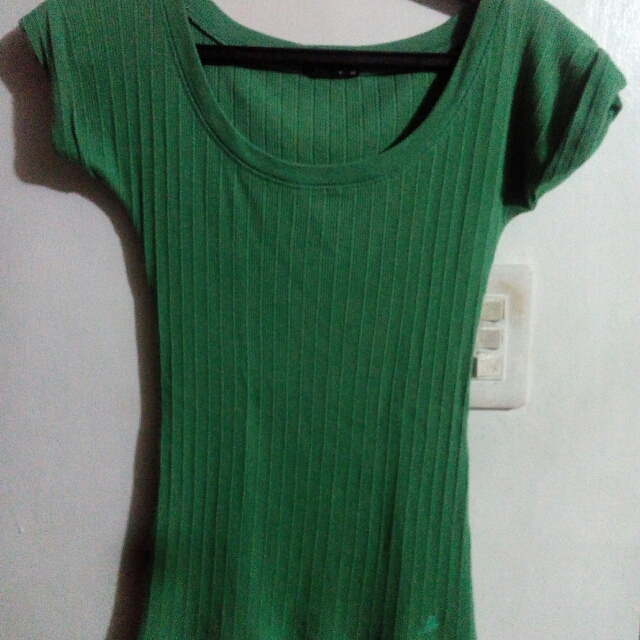 Green F&H Blouse