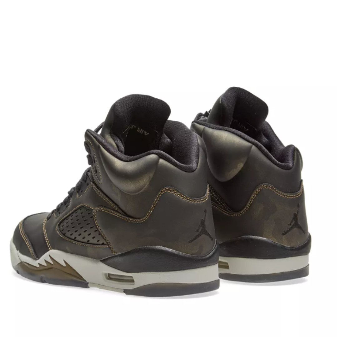 buy online 2366d 9e9f6 [GS] NIKE AIR JORDAN 5 RETRO PREMIUM HEIRESS GS, Women's Fashion, Shoes on  Carousell