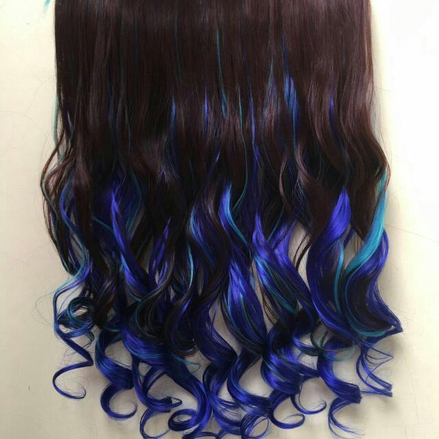 Hairclip Ombre Galaxi