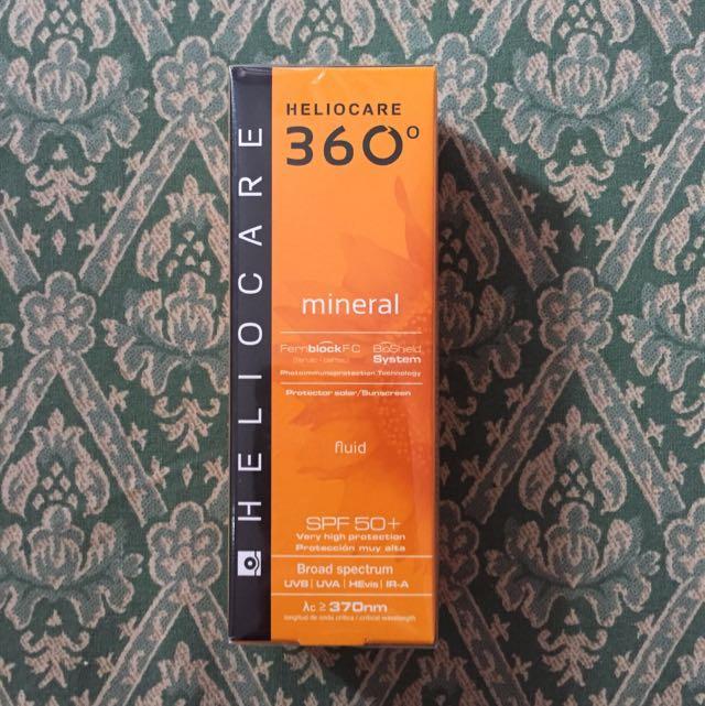 Heliocare 360 Mineral sunblock SPF50+
