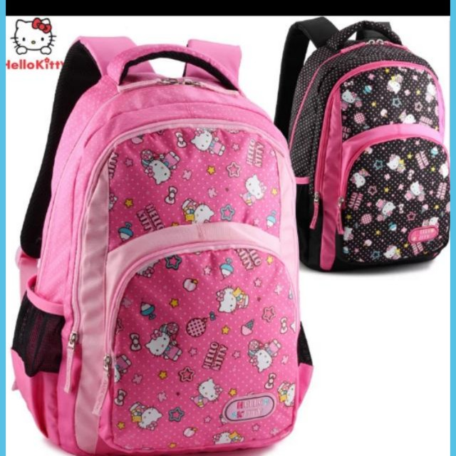 20cd2609f8 Hello Kitty School Bag Backpack For Primary School Children Primary ...