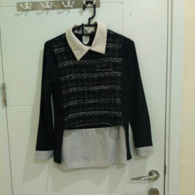 H&M blouse,  kemeja H&M