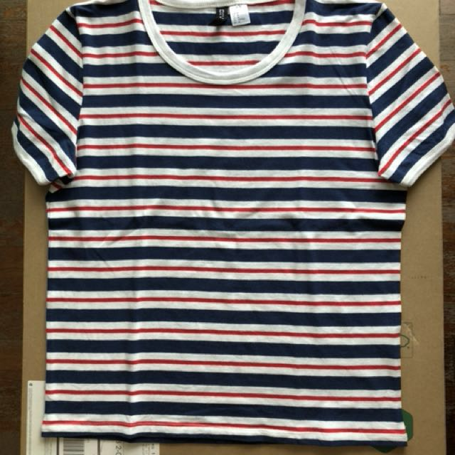 H&M Striped T-shirt (Size M)