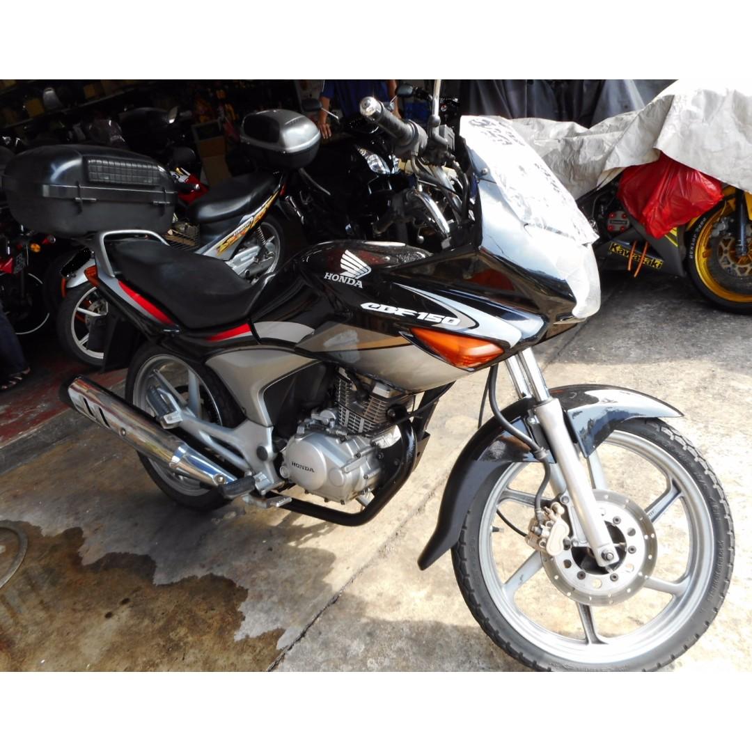 Honda CBF 150 COE expiry 25/12/2022