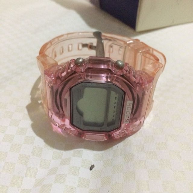 Hoops Pink Watch