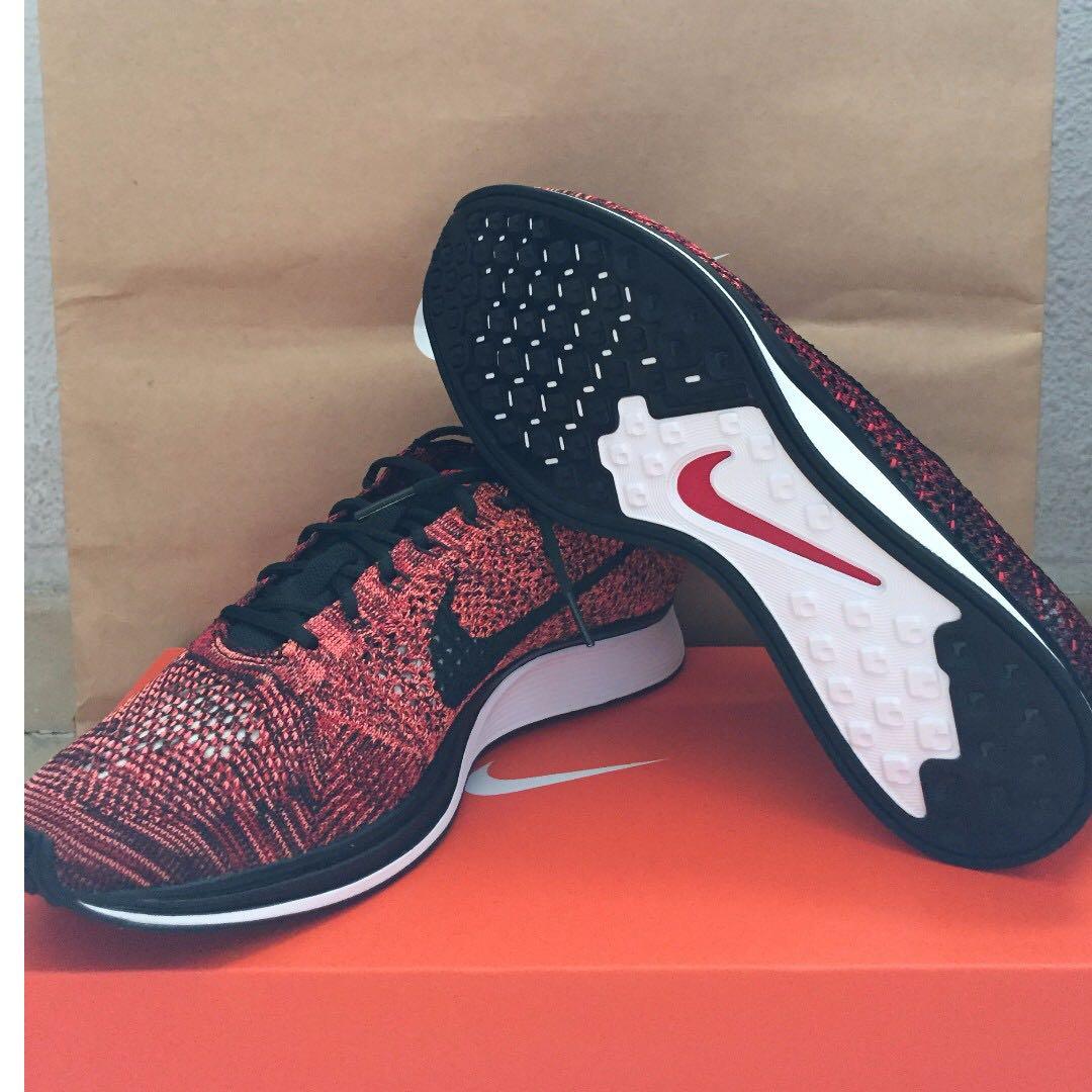 855c2e741924d HOT SALE!) US9.5 Nike Flyknit Racer