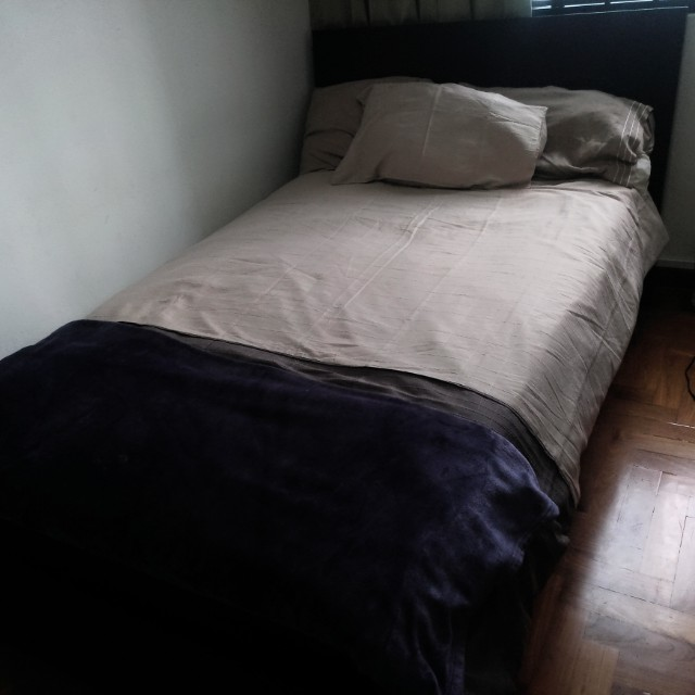Ikea bedframe with mattress
