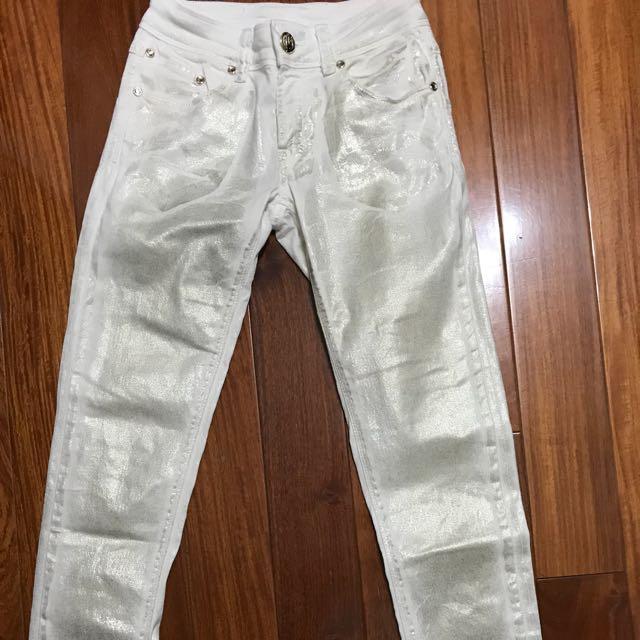 Imperial gold jeans 金色刷色牛仔褲