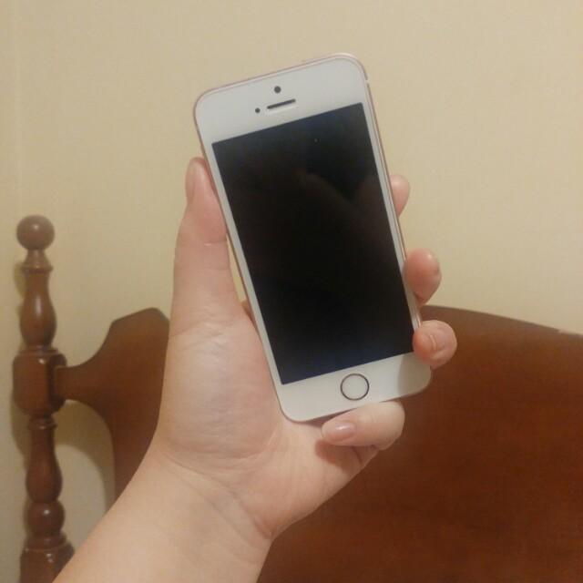 IPhone SE rose gold 128 GB