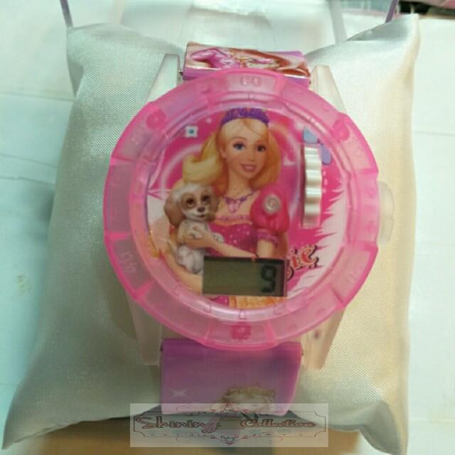 jam tangan anak model putar (gambar bisa diputar)