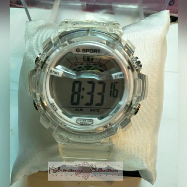 jam tangan fashion G-sport digital