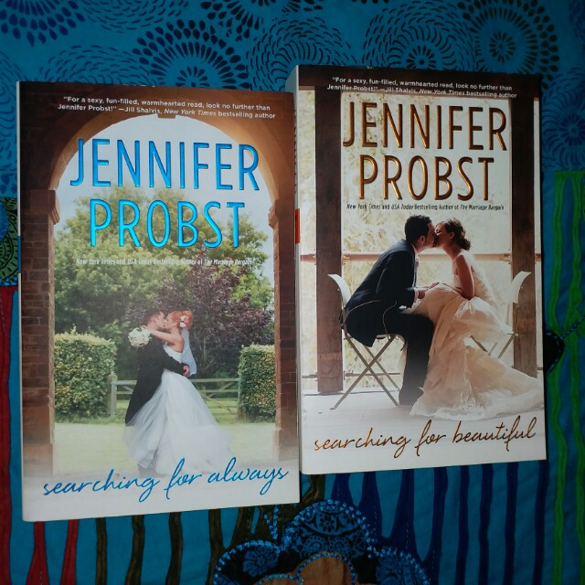 Jennifer Probst - searching for always & searching for beautiful.