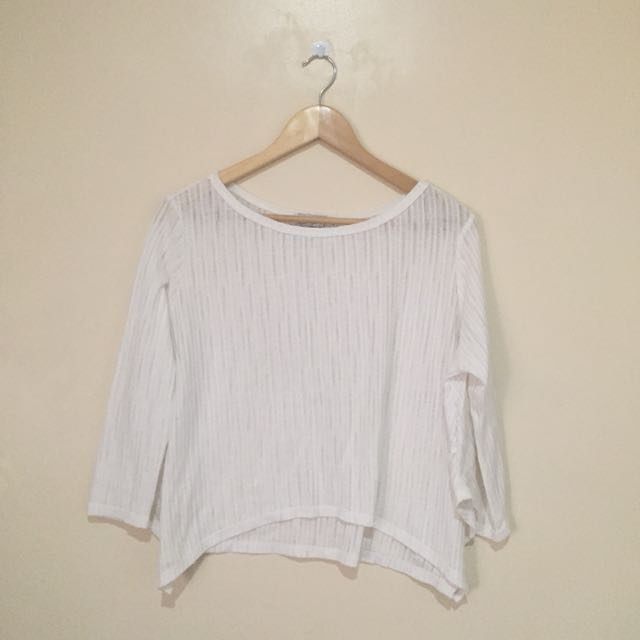 Just G Seethrough Top