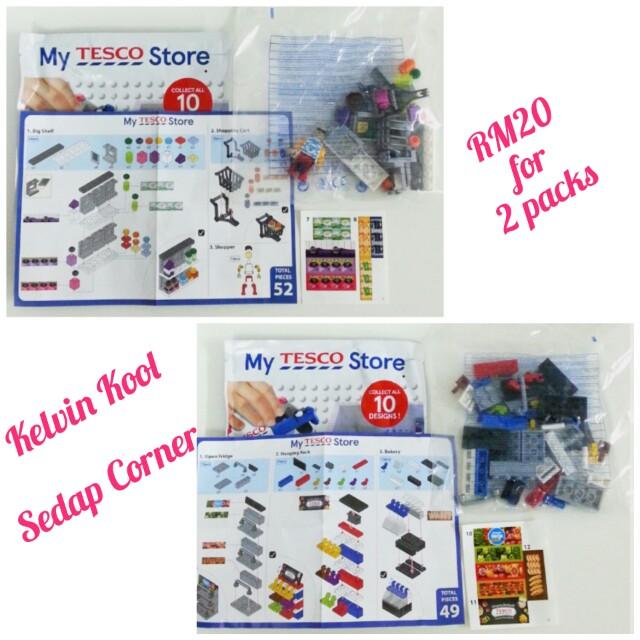 Kelvin Kool & Sedap Corner Lego