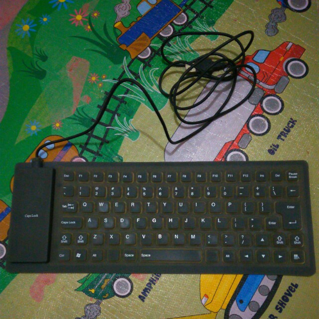 Keyboard silikon elastis Rp.75.000