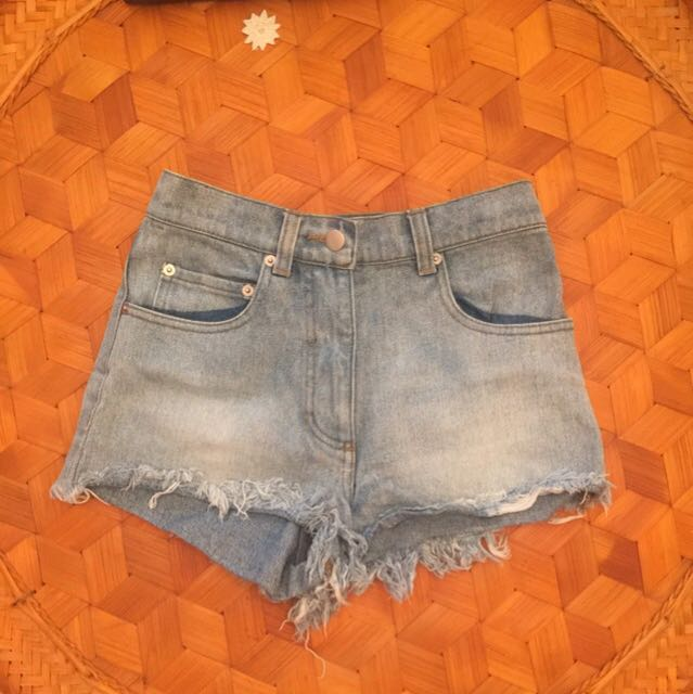 Kookai denim shorts 34