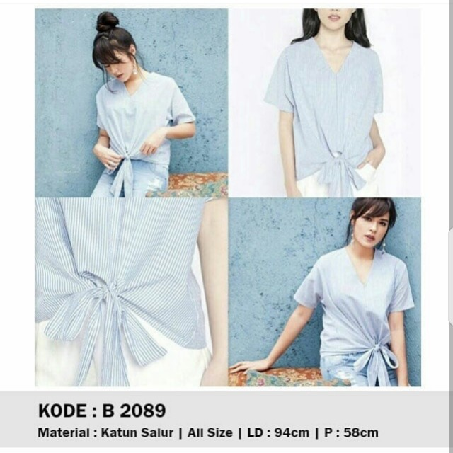 korean stripes top