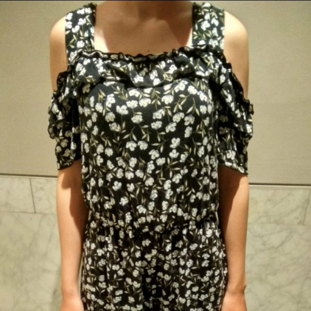 L stradivarius jumpsuit dress