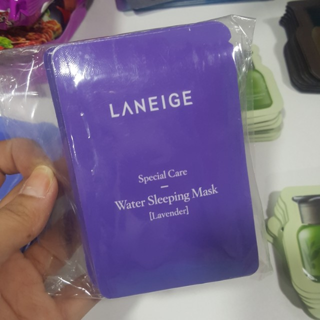 Laneige Wtaer Sleeping Mask Lavender