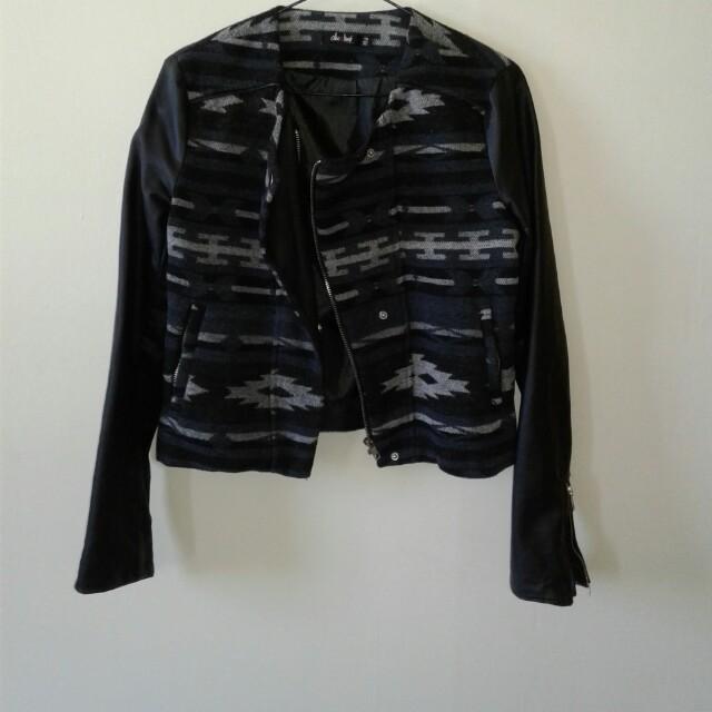 Leather & denim jackets
