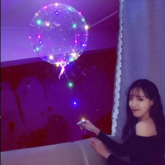 LED balloons for Xmas