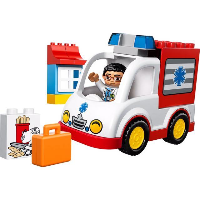 Lego Duplo Fire Station (10593) and Ambulance (10527), Toys ...