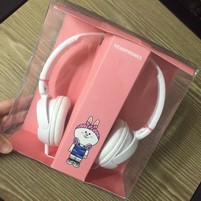 Line兔兔耳機🎧