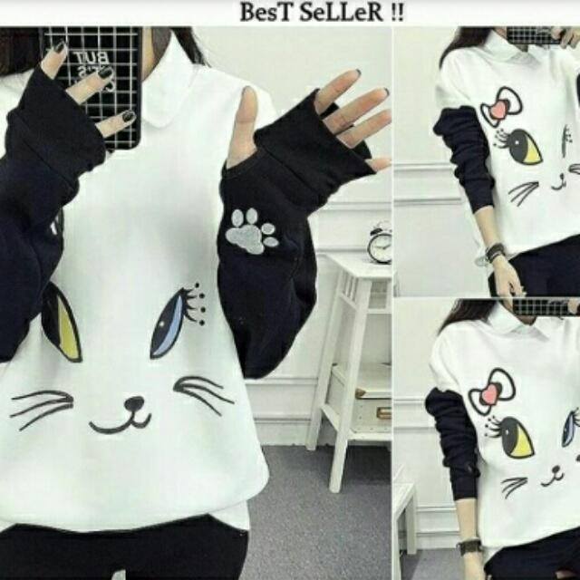 ll sweater roundhand cat gil