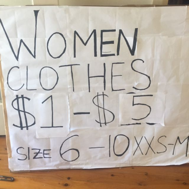 Lots Of Women's Clothes $1-$20