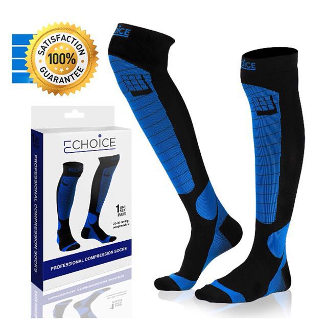Mens Professional Compression Socks Protect Leg Unisex Women Man Socks Breathable Anti-fatigue Boost Blood Circulation Underwear & Sleepwears