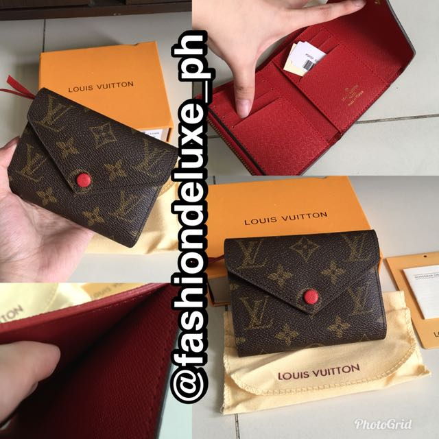 Lv Louis Vuitton Victorine Short Wallet
