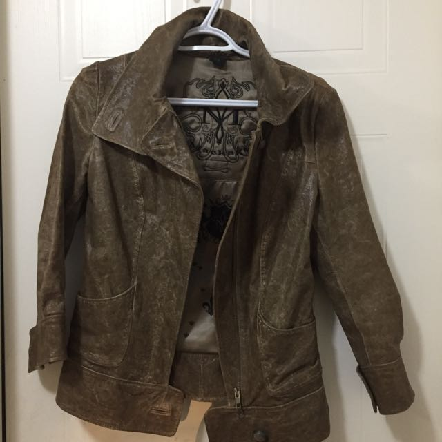 Mackage Leather Jacket- size small