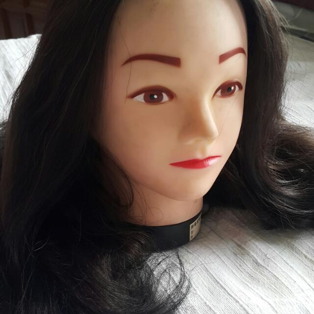Mannequin For Practicing Hair Style