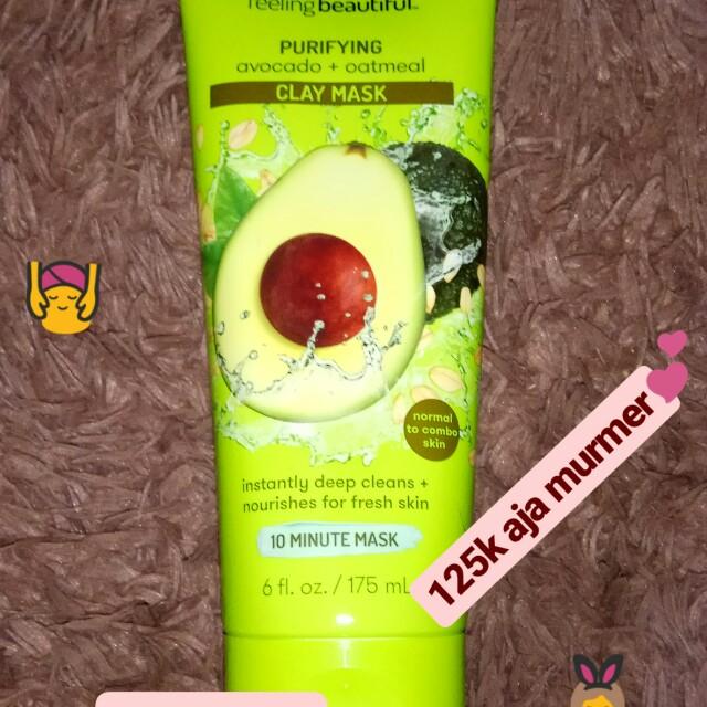 Masker freeman avocado