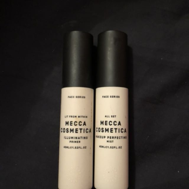 Mecca cosmetic illuminating primer and perfecting mist