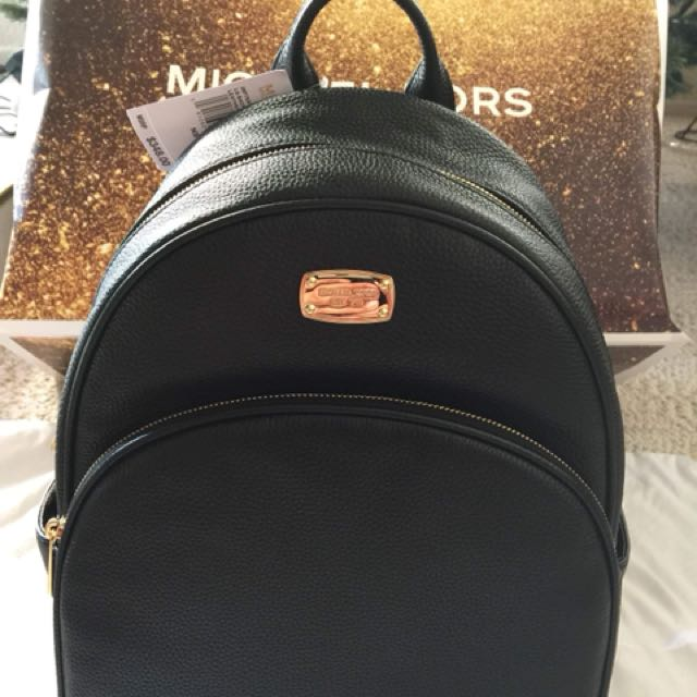 4cbff983347e ... photo photo photo MICHAEL Michael Kors Rhea Zip Medium Leather Backpack  ...