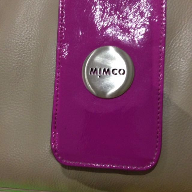 Mimco pouch iphone5